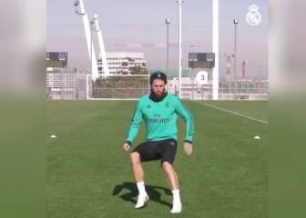 Sergio Ramos sigue entrenando para ultimar su recuperación