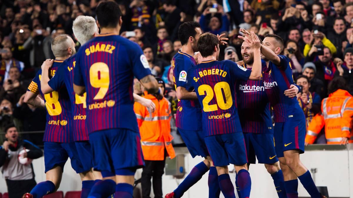 VÍDEO   Resumen y goles del Barcelona 2 - Espanyol 0 de ...
