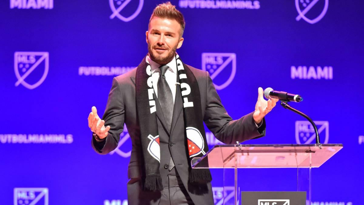 Beckham already fielding calls from players about miami for Championship league table 99 00