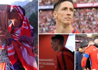 Lo que no se vio del adiós de Torres: puro sentimiento atlético