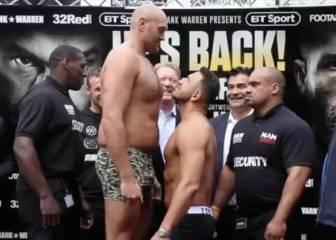 Pasará a la historia del boxeo: el pesaje más surrealista jamás visto