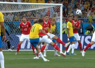 Coutinho está como una moto... ¡su gol a Suiza es un escándalo!