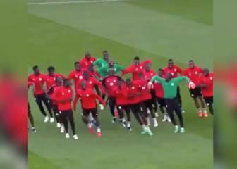 Senegal causa furor en Internet con su entrenamiento: es imposible no querer animarlos