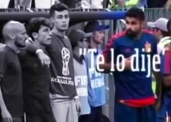 """Diego Costa, a Hierro tras el fallo de Koke: """"Te lo dije..."""""""