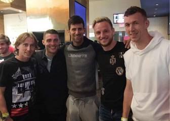 El ejemplo de paz y convivencia de Rakitic y Djokovic: la mejor cara del deporte