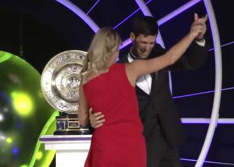 El baile más top de Djokovic y Kerber tras ganar Wimbledon