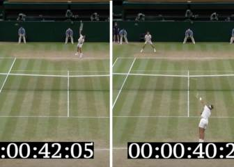 ¿Cuánto pueden llegar a tardar Nadal y Djokovic en sacar?