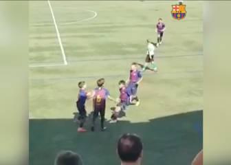 ADN Barça: el golazo de los niños de 'La Masia' para empatar un partido en el último minuto