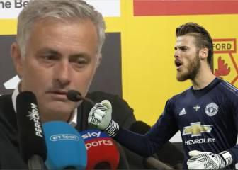 Mourinho contra sus críticos: la defensa más férrea de De Gea