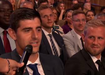 Recado de Courtois a la FIFA para que añada un premio más