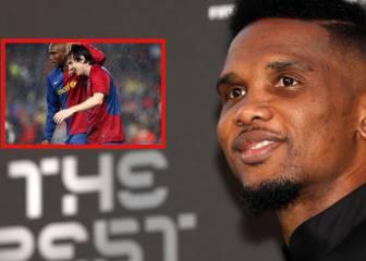 """Eto'o sobre el The Best: """"Este premio no cambia nada, Messi sigue siendo el mejor"""""""