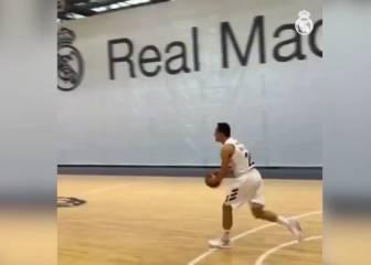 'Media day' en el Madrid y Prepelic hace esto: ¡de más de 20 metros!